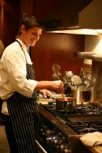 It's not everyday you get towork alongside a professional chef in a professionalkitchen.