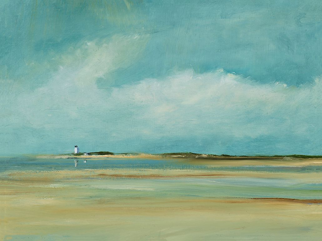 """Tide Going Out 12"""" x 16"""" Limited edition art, Painting, Art"""