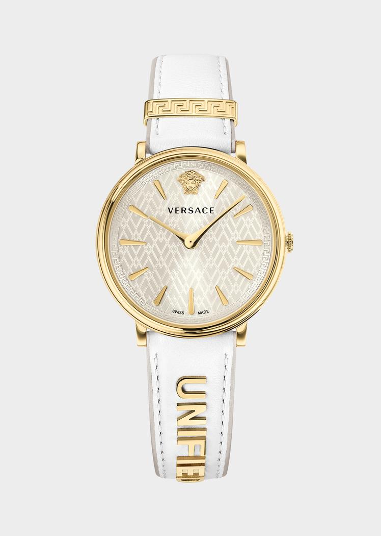 89a37e80b3 Versace White Unified Manifesto Watch for Women   นาฬิกาหรู in 2019 ...