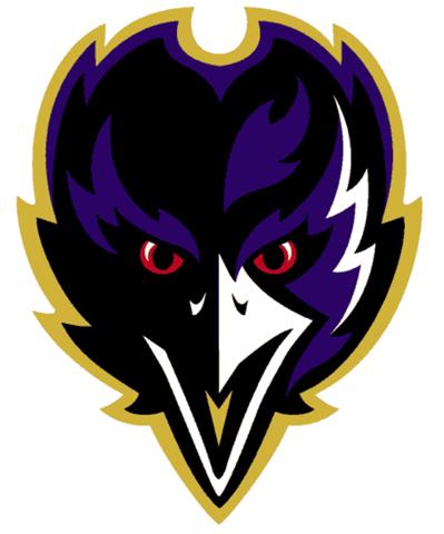 Baltimore Ravens Alternate Logo (1999)  8b9aed97b43