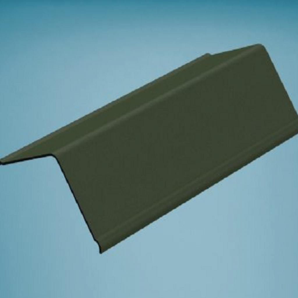 Green Bitumen Corrugated Gable End Angle Corrugated Roofing Green Angles