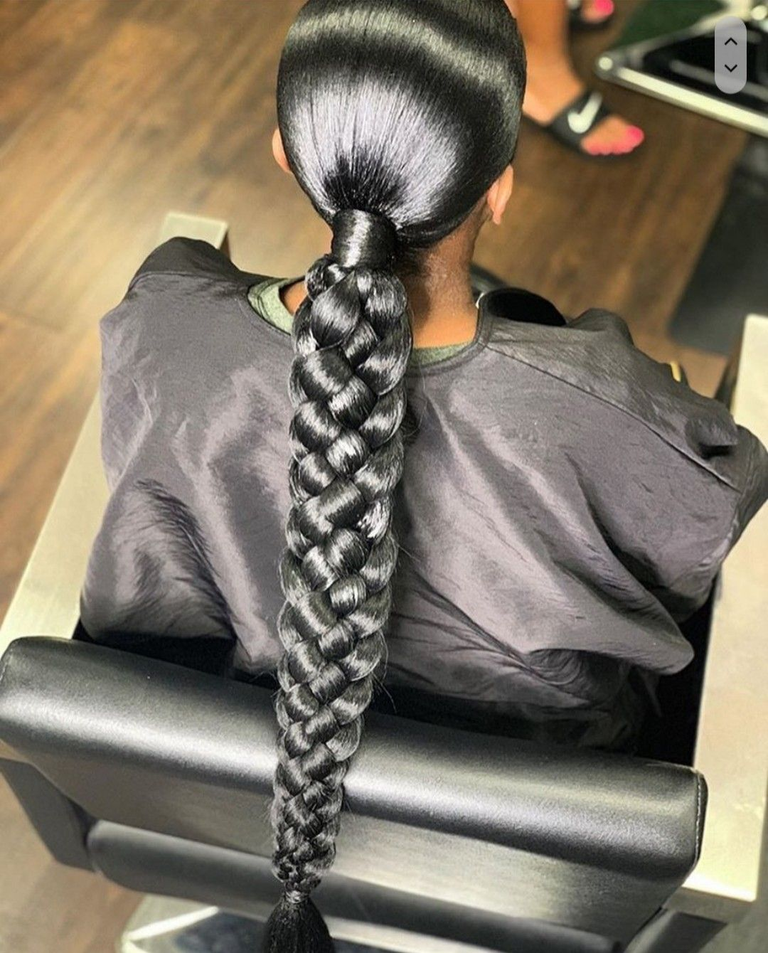 Braided ponytail hairstyles image by fmoig: dopegurlsyd ...