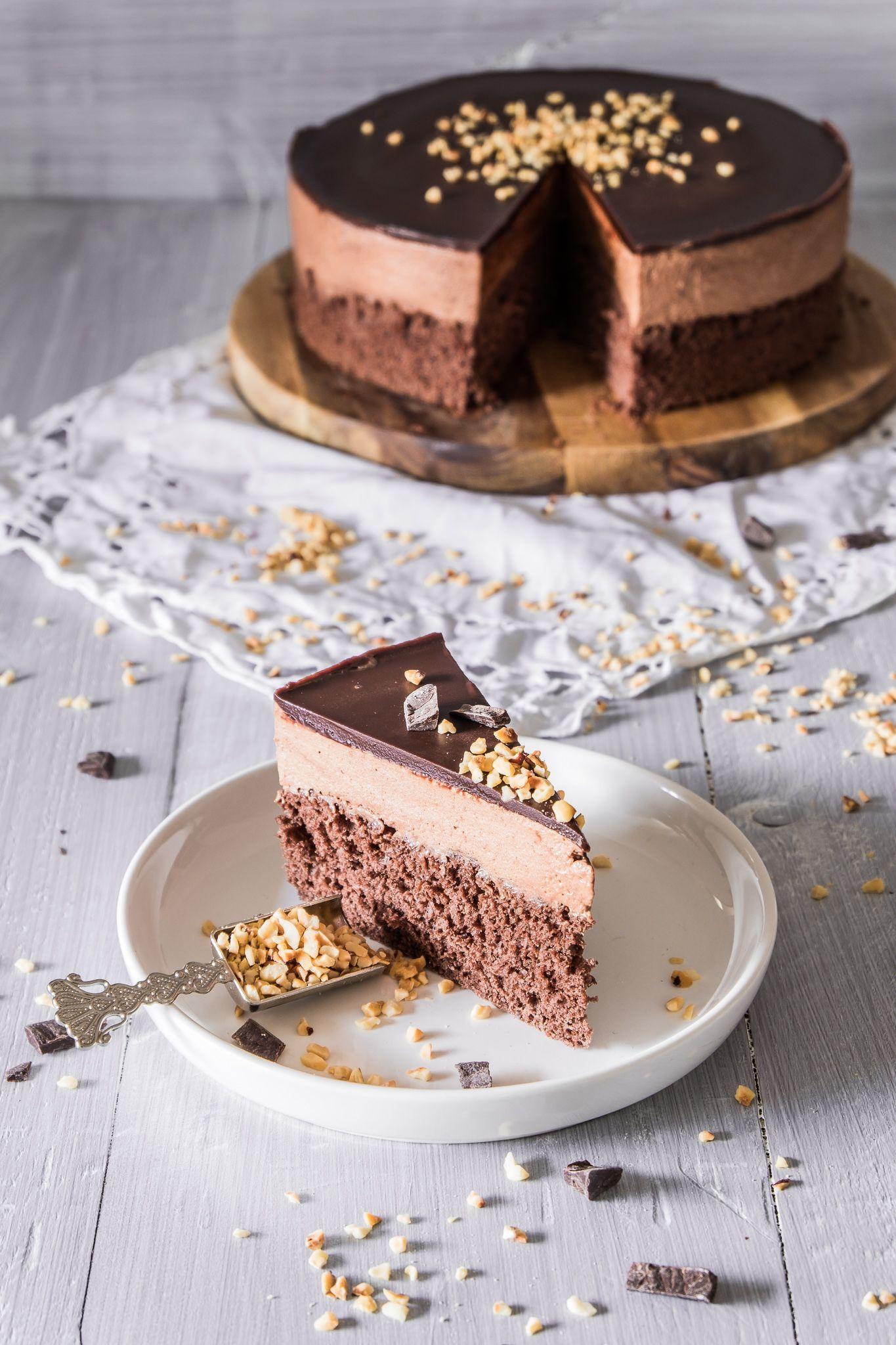 Schokoladen Mousse Kuchen - Torte - Ahalni Sweet Home