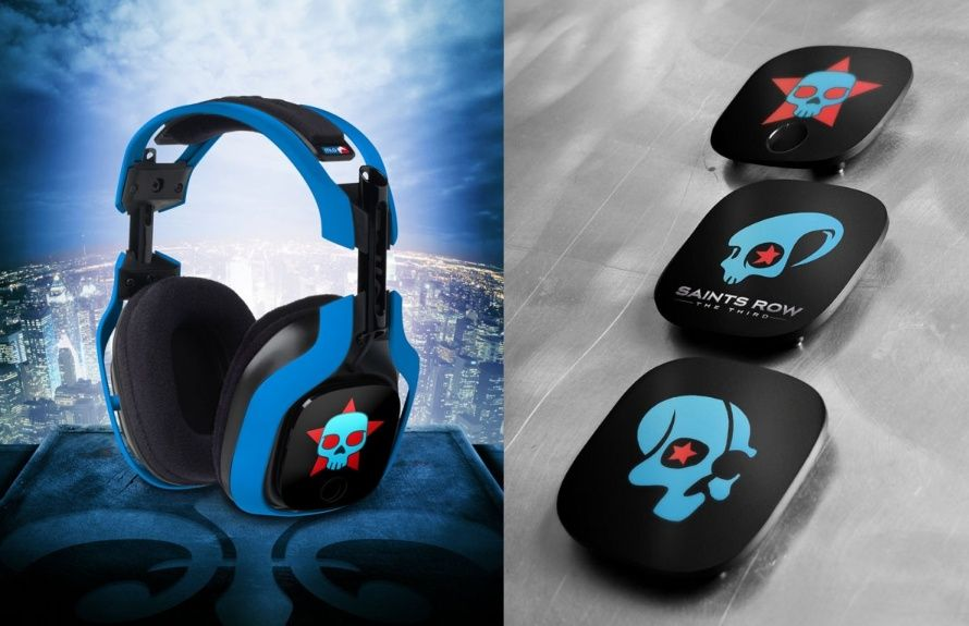 5641425e728 Saints Row: The Third - Deckers Astro A40 Gaming Headset #SaintsRow  #Deckers #AstroGaming