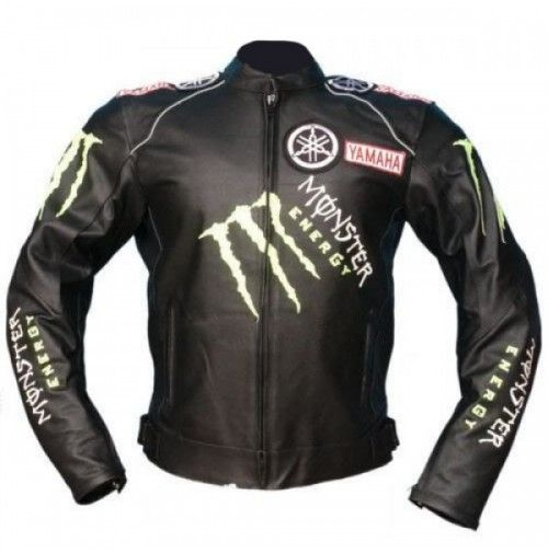 Yamaha Motorcycle Leather Jackets Motorbike Racing Jacket Men S