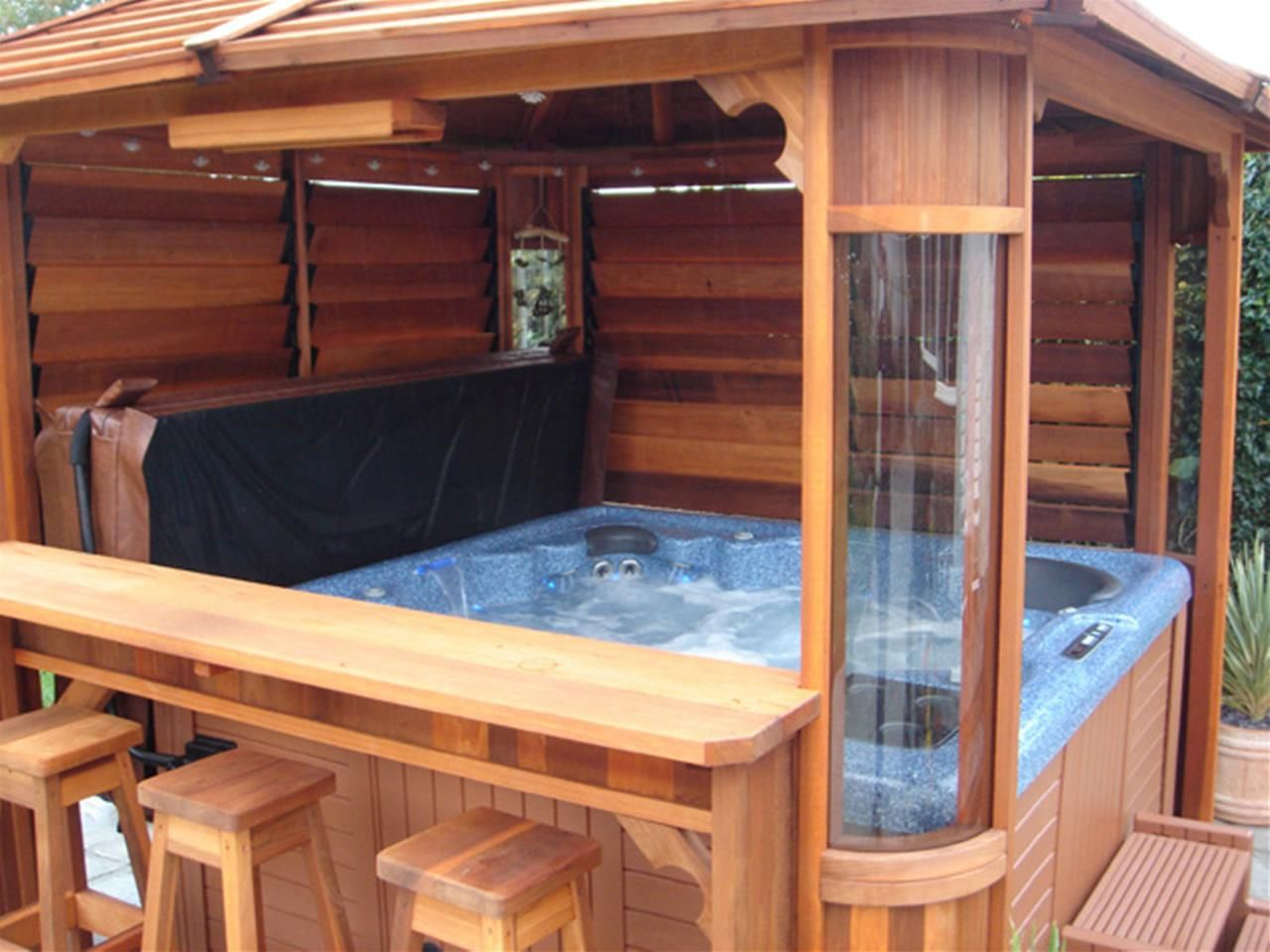 hot tub bar table - Google Search | HOME EXTERIOR ...