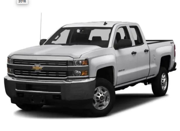 2016 Chevrolet Silverado 3500HD Work Truck Year 2016 Make