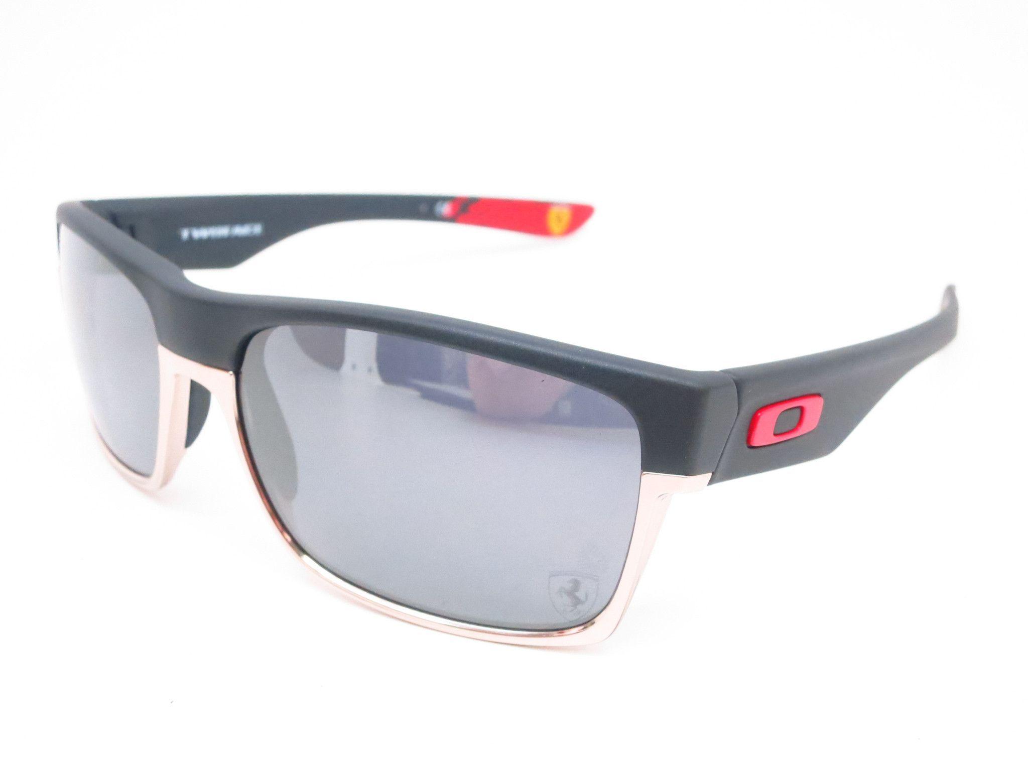 61c15da5bf Oakley Twoface OO9189-20 Matte Black Scuderia Ferrari Sunglasses ...
