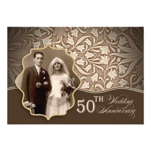 50th wedding anniversary invitations templates free Wedding