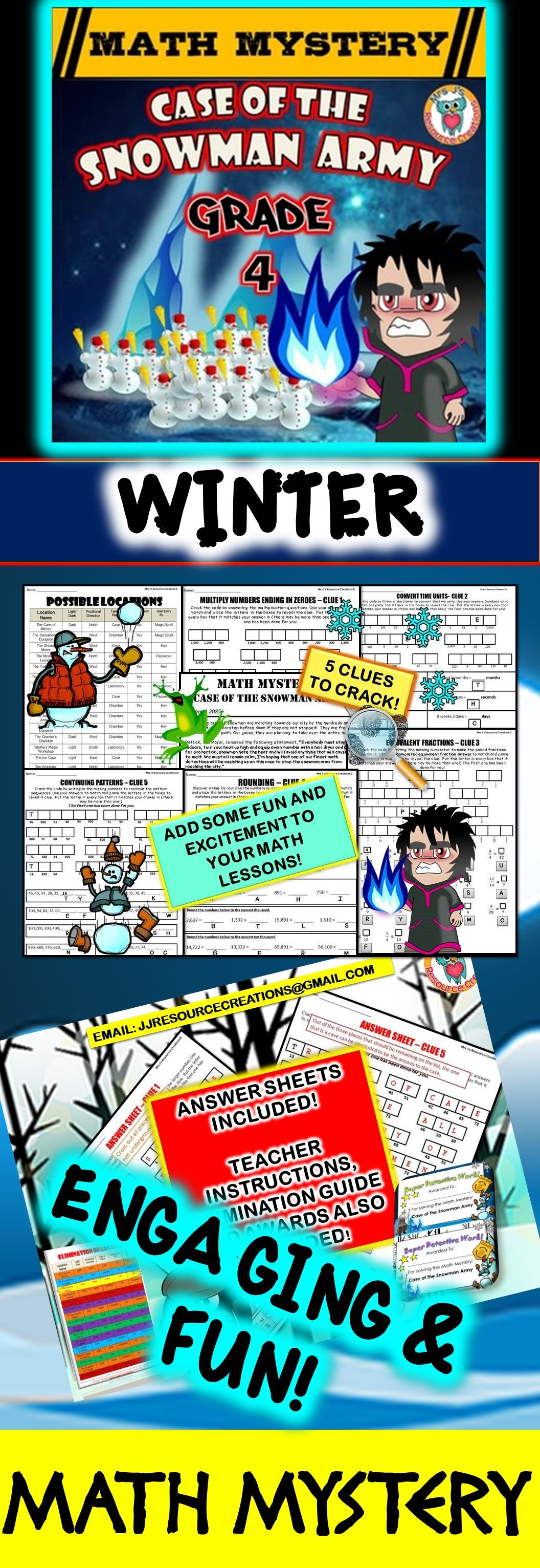 3rd Grade Winter Games Math 3rd Grade Math Mystery Pictures