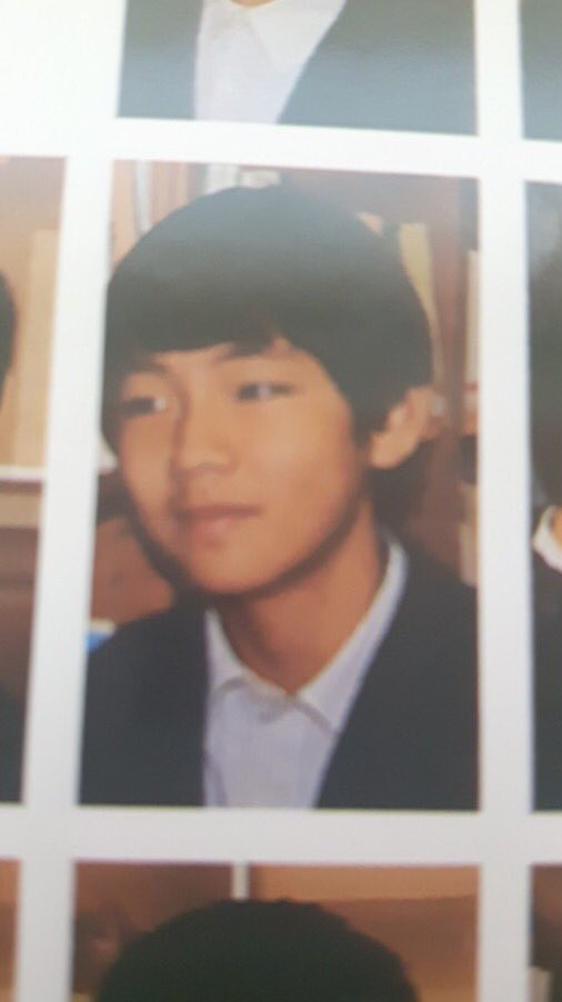 Taehyung in middle school | BTS (Bangtan Sonyeondan) in 2019