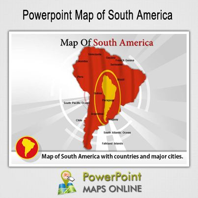 Pin by powerpoint maps on powerpoint maps templates pinterest ppt template templates maps south america toneelgroepblik Gallery