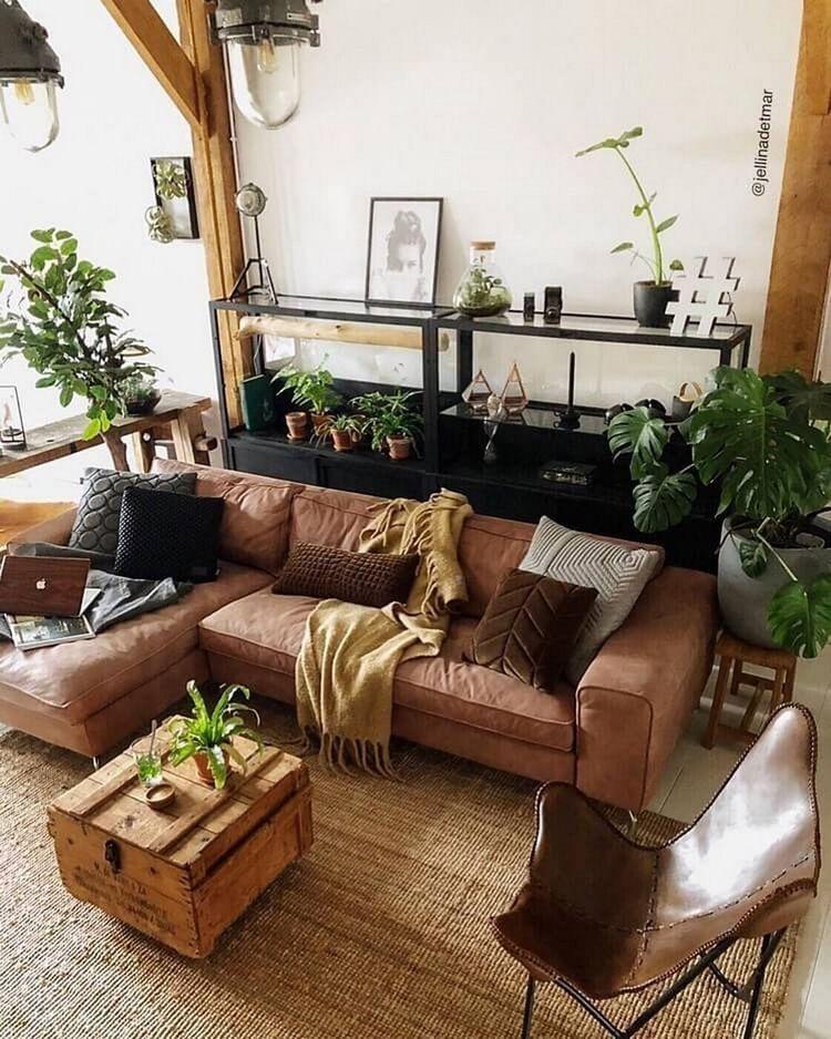 Boho Bohemianstyle Bohemiandecor Bohemianlivingroom Livingroom Livingroomideas Indoorgardening Indoorplants In 2020 Boho Living Room Apartment Decor Room Decor