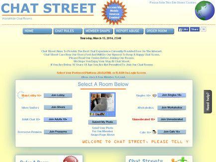 Scene chat website