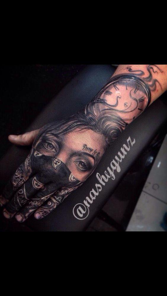 Home Tattoo Spirit Herren Hand Tattoos Hand Tattoos Tatowierungen