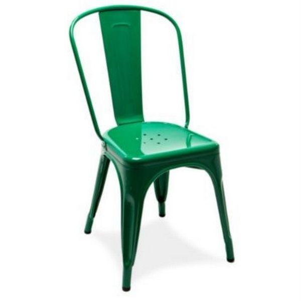 cette chaise verte de cuisine ou de salle manger tolix a t cre en 1927 - Chaise Verte