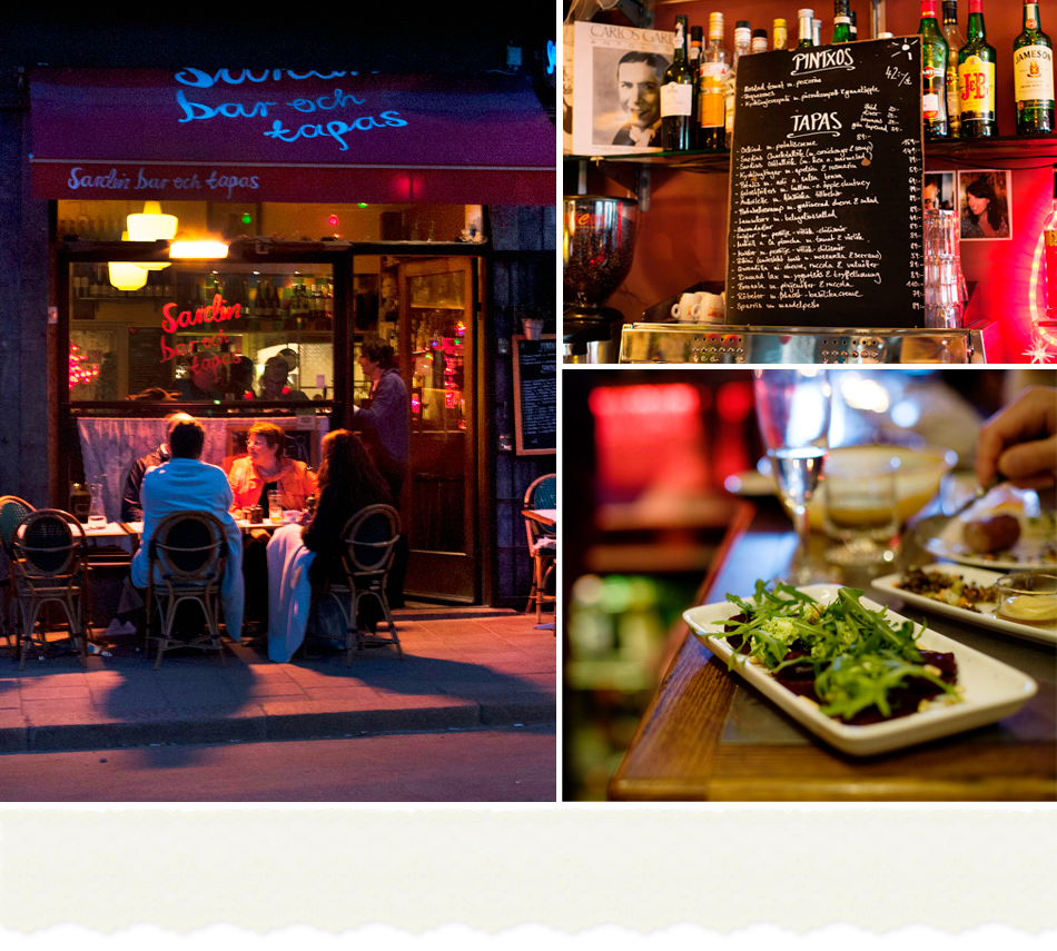 sardin tapas bar / stockholm / one of the best meals i've ever had