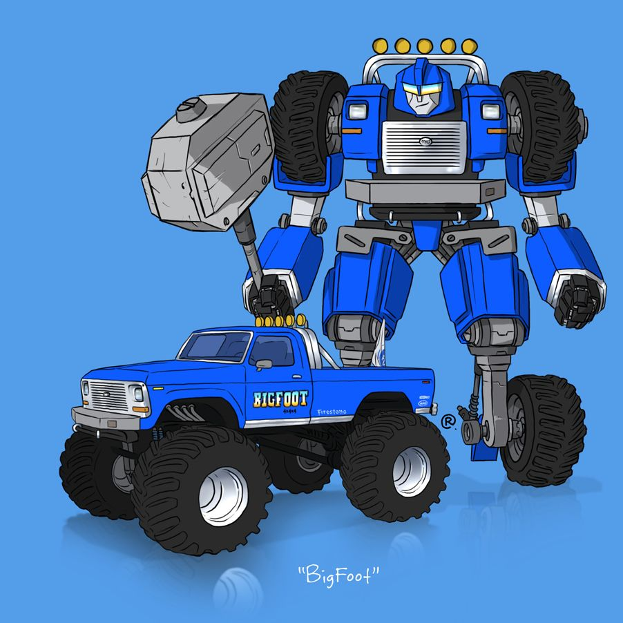 What If These Tv And Movie Cars Were Transformers Cars Movie Monster Trucks Transformers