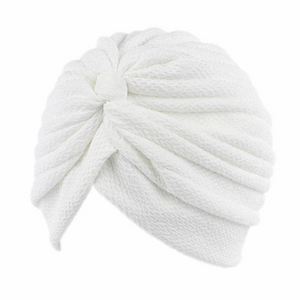 Luxury White Women s Turban hats  7dffdeb2807