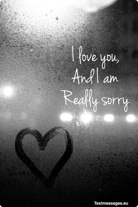 I Am Sorry Messages For Her Girlfriend Or Wife Kata Kata Motivasi Motivasi Kutipan