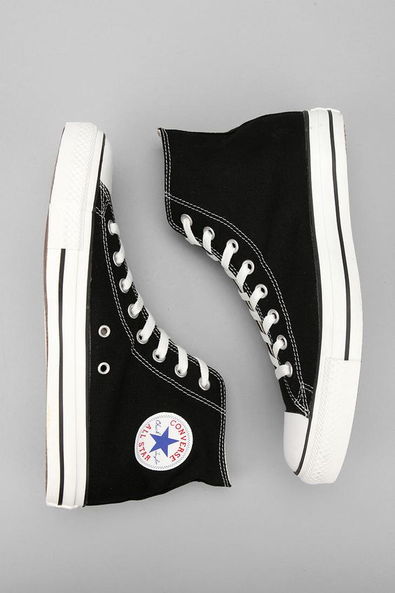 Converse All Star Hi Top | shoes•galore in 2019 | Black high