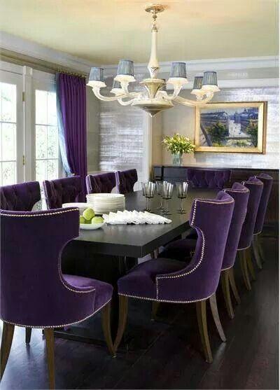 Purple U0026 Black Living Room Part 85