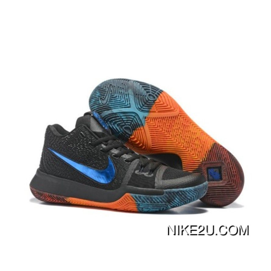 2017 Nike Kyrie 3 BHM Basketball Shoes Online in 2020 | Nike