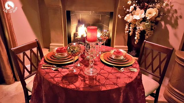 Have A Romantic Candle Light Dinner At Home Candle Light Dinner Romantic Dinner Setting Romantic Candle Light Dinner