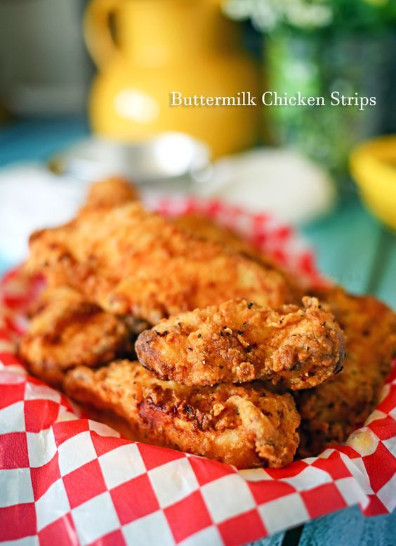 Buttermilk Chicken Strips The Next Time You Need An Easy Chicken