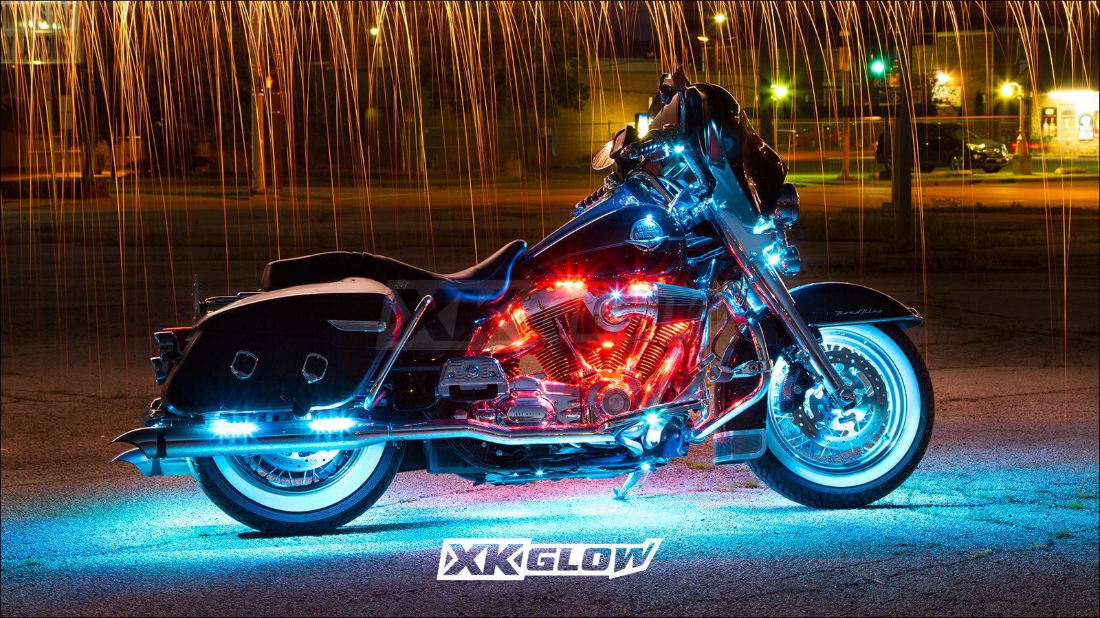 Pin By Xkglow On App Controlled Led Motorcycle Led Lighting Led Motorcycle Headlight Boat Lights