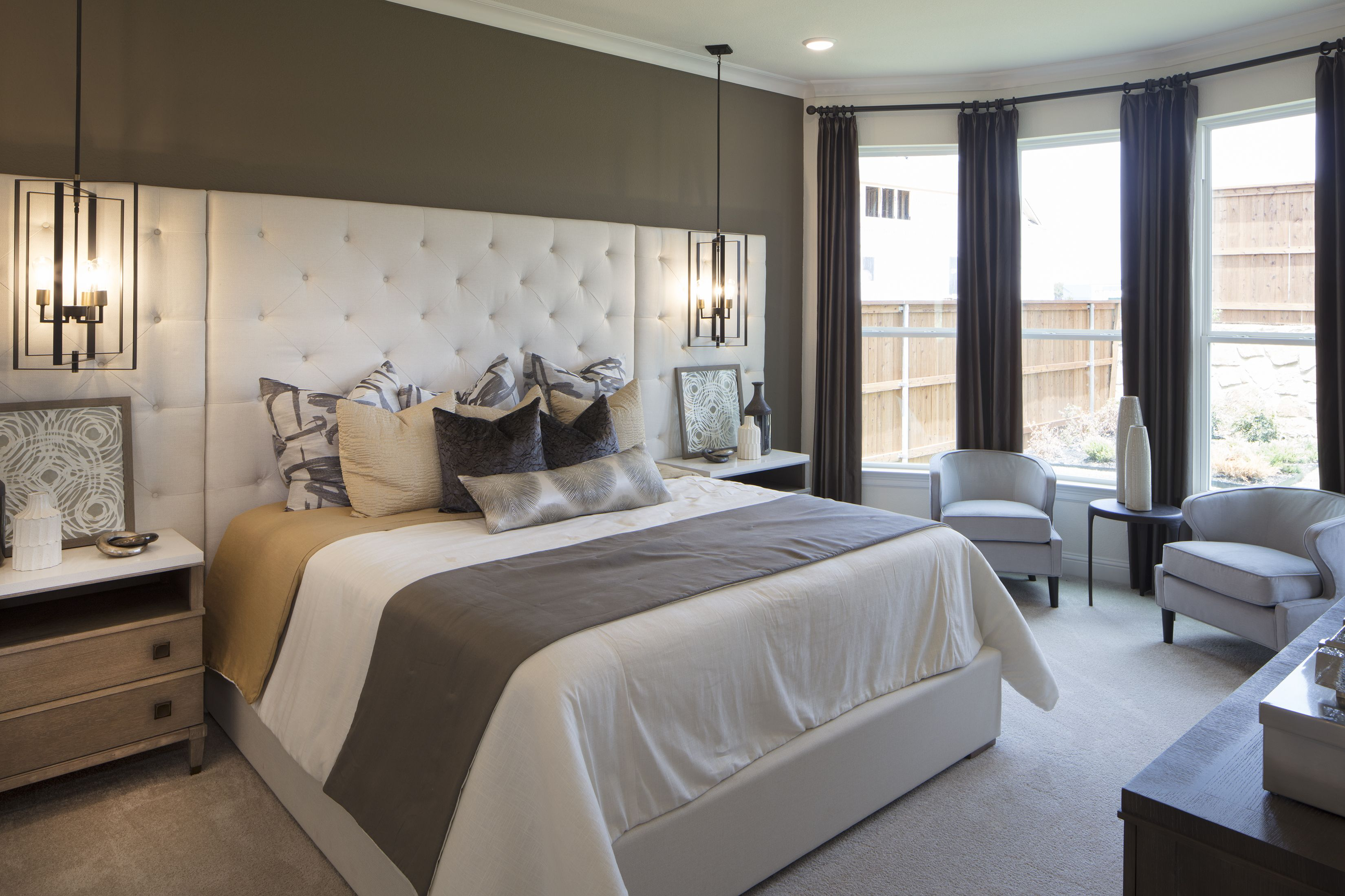 Add comfort to your life with DarlingHomes. bedroom