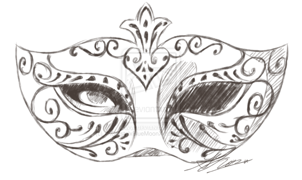 Mask Sketch By Minzymons On Deviantart Mask Drawing Mask Painting Design Art Drawing