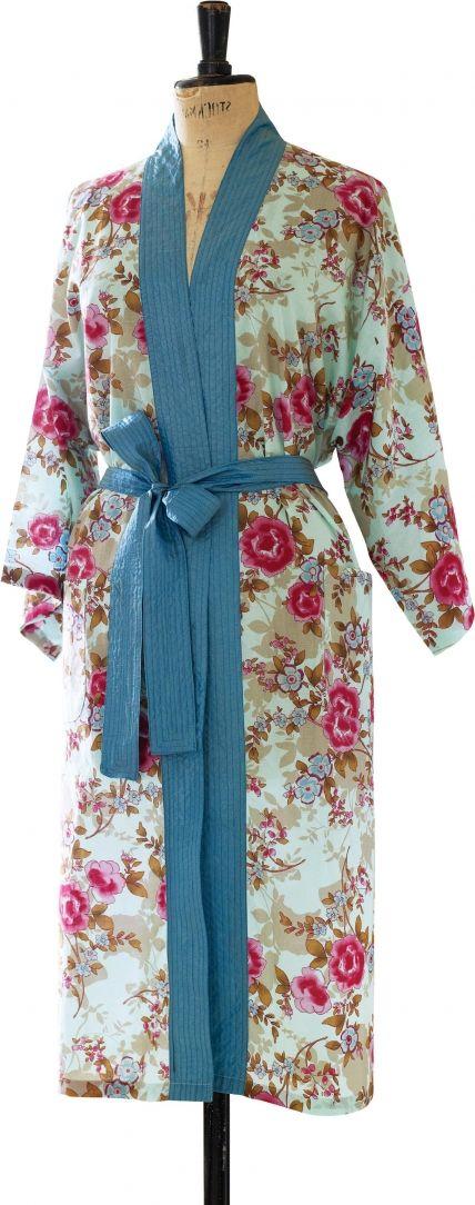Floral Oriental Kimono Robe - Free sewing patterns