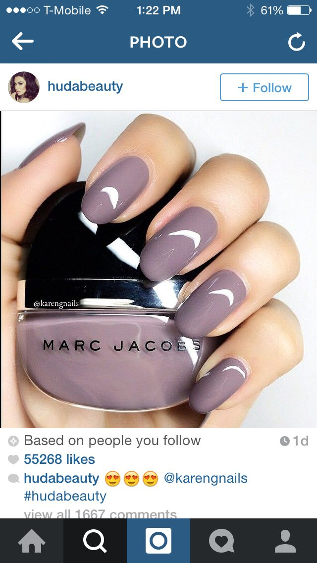 Fall nails! Never can go wrong with Marc! | Beauty | Pinterest ...