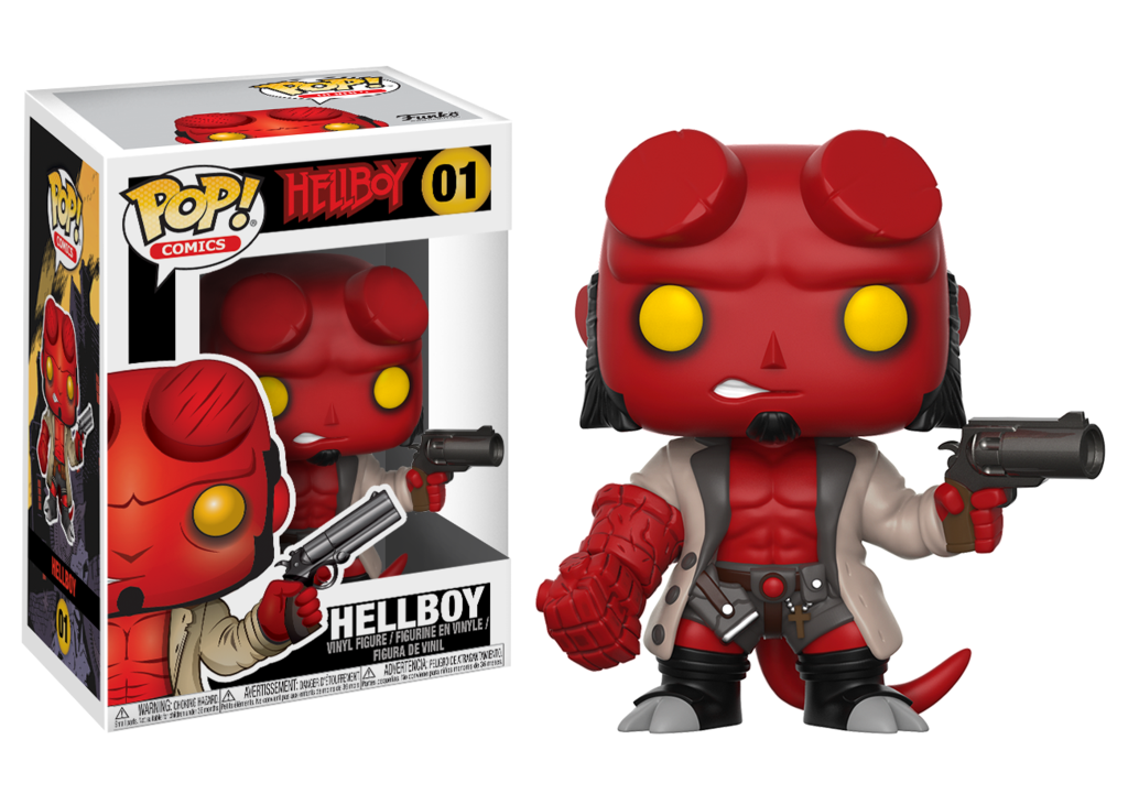 Hellboy Comic Hellboy With Jacket Pop Vinyl Figure Pop