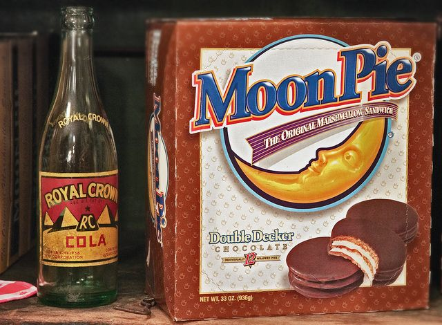 RC and a Moon Pie by susanc59, via Flickr // they go together like peanut butter and jelly.