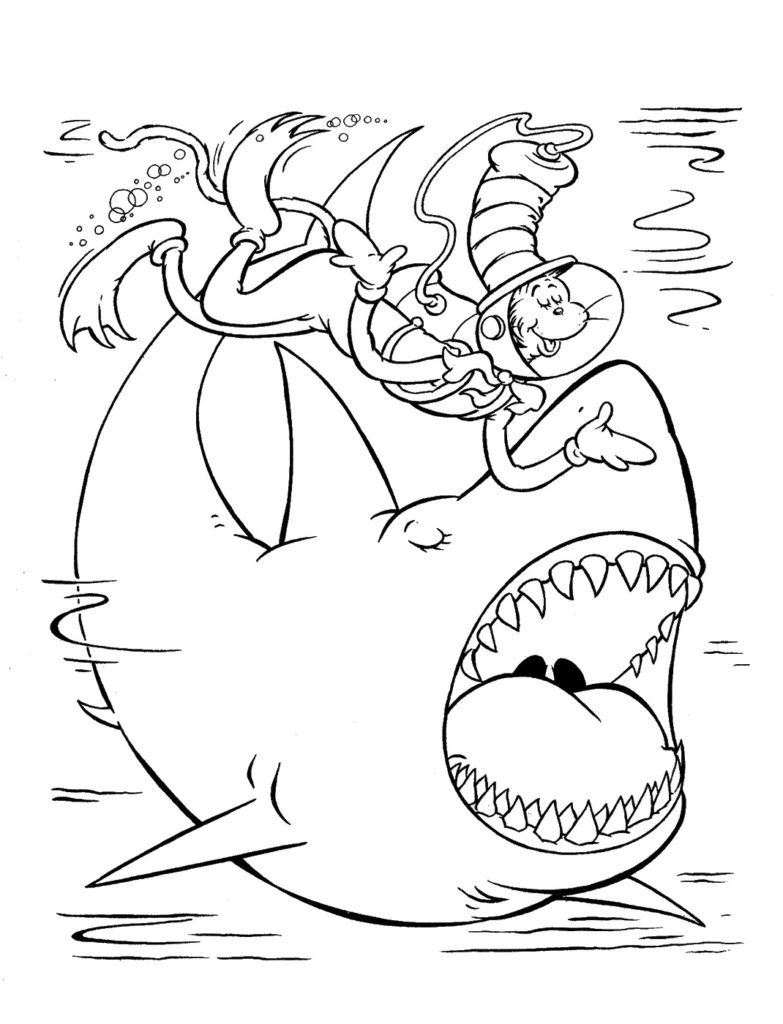 11+ Doctor seuss coloring pages inspirations