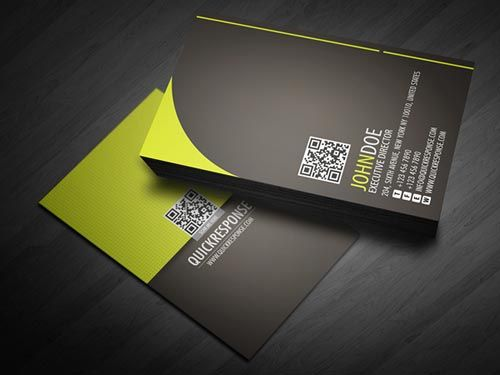 quick response business card design version 05 by rayz ong via behance