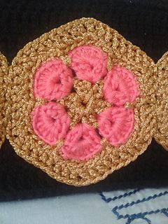 Ravelry: African Flower Party Purse pattern by Lakshmi Nair