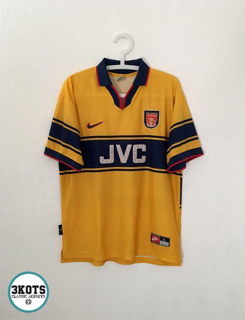 FC Arsenal 1997\\1998 Home Football Jersey Camiseta Soccer Maglia Shirt Vintage