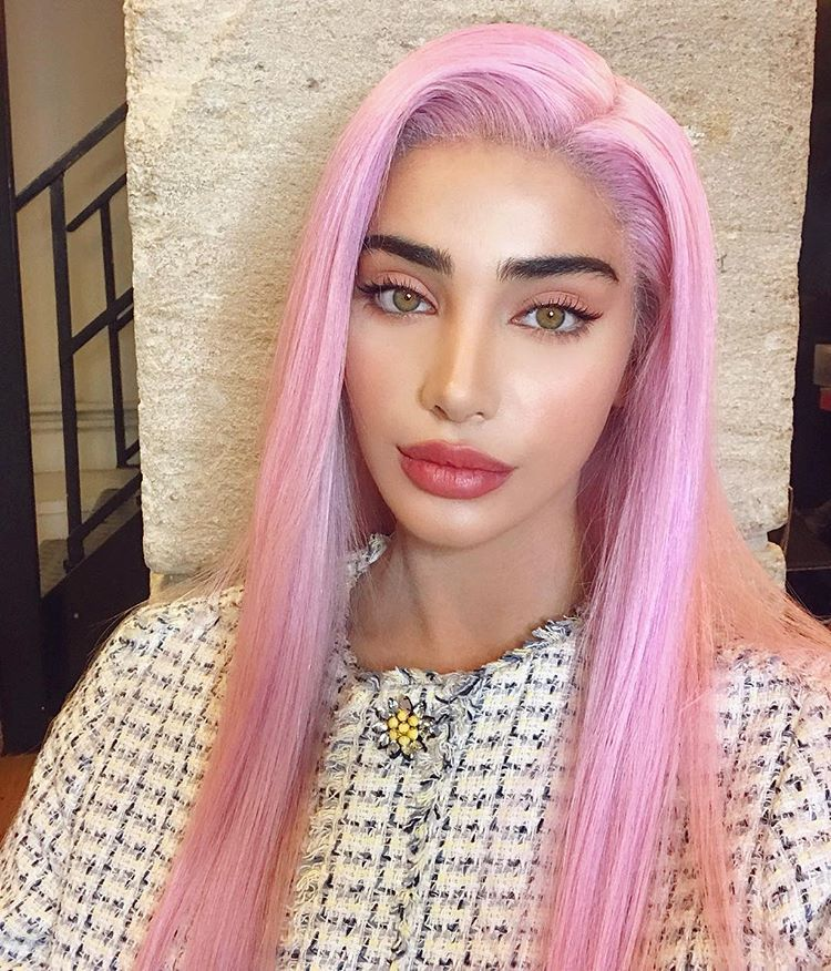 Negin Instagram Photos And Videos Long Pink Hair Pink Hair Cool Hairstyles