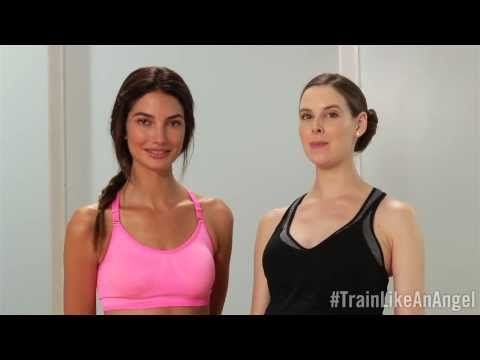 ▶ Train Like An Angel: Lily Aldridge - YouTube  this is definitely my life, so why not...