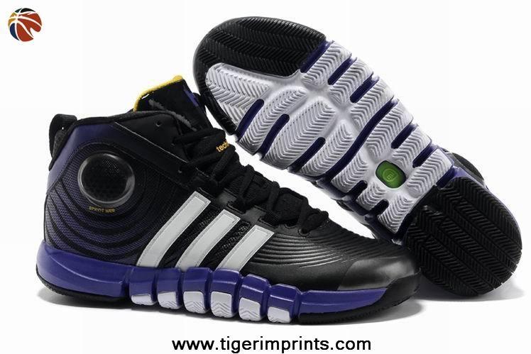 Cheap G22670 Adidas adiPower Howard 3 Black Club Purple White For Sale