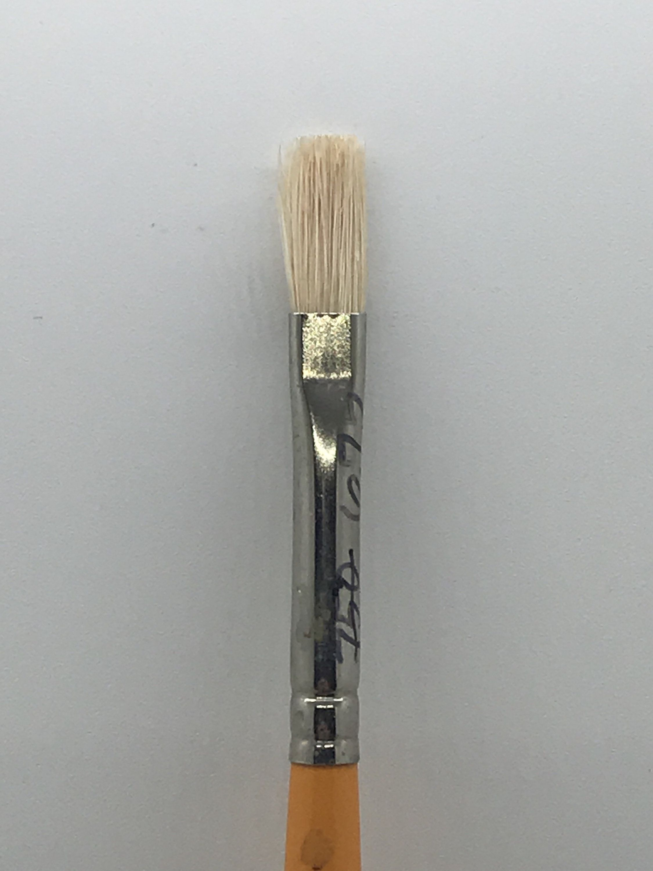 Grumbacher 4228f Bristle Brush Flat Brush 1 Grumbacher Pre Tested 4228 Flat Brush Artist Brush Brush