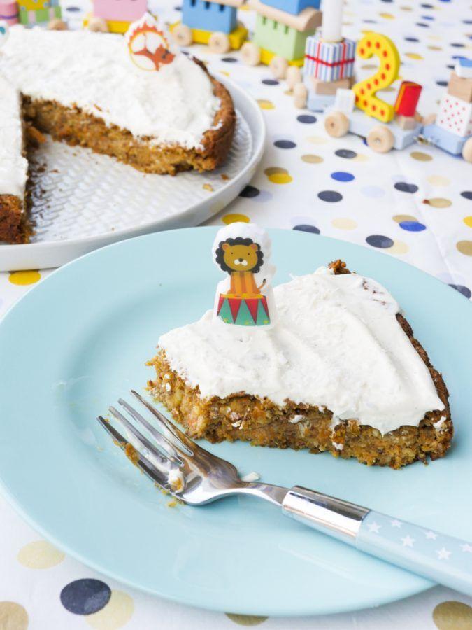 Gesunder Zuckerfreier Geburtstagskuchen Fur Kinder Rezept