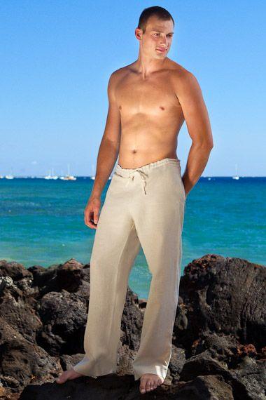 Natural Linen Riviera Pant | Wedding, Pants and Destinations