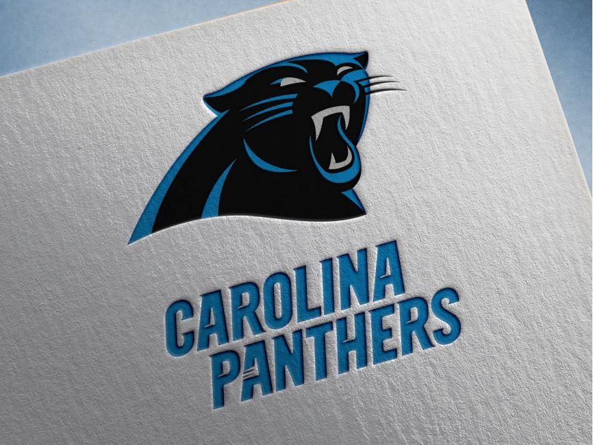 Carolina Panthers Vector Logo Vector Logo Free Logo Mockup Carolina Panthers