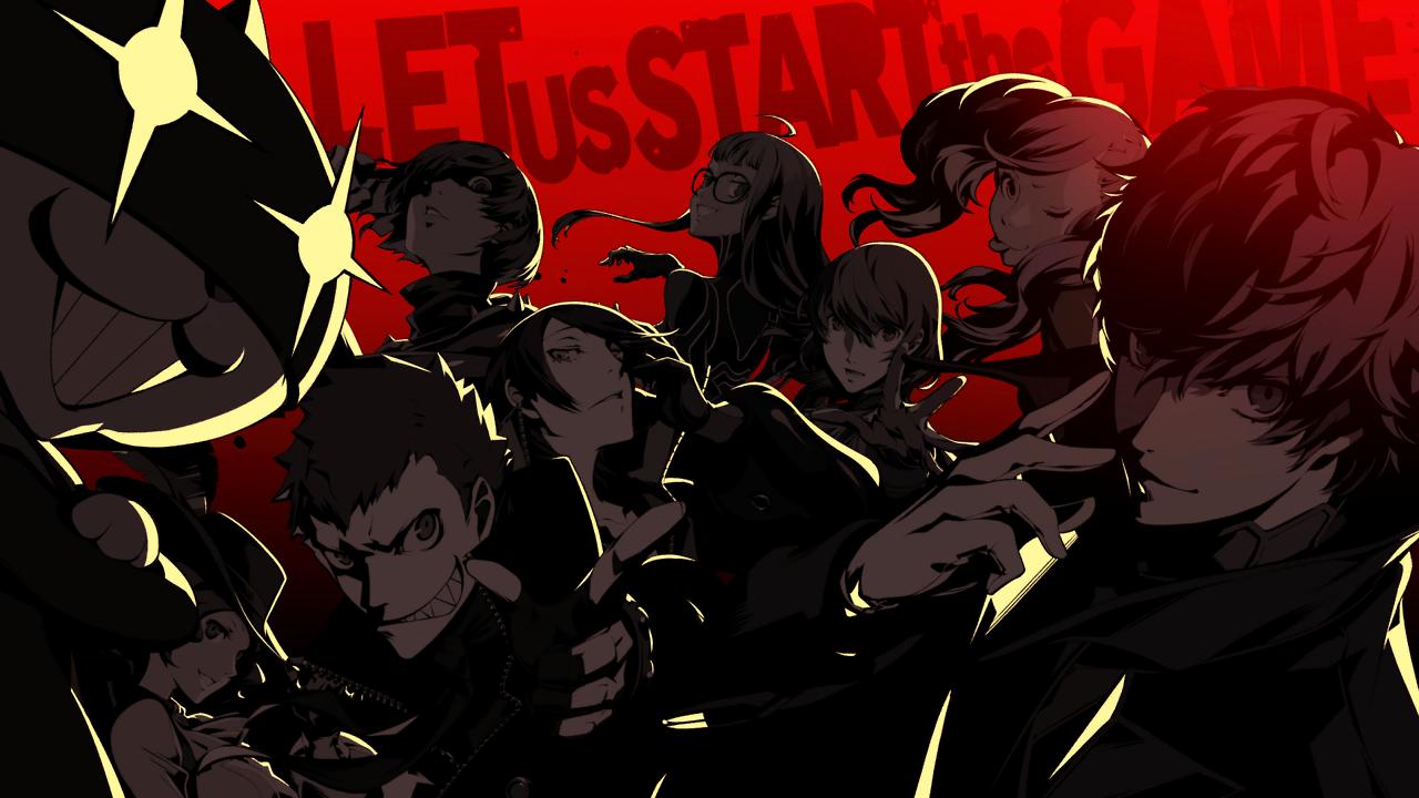 Persona 5 Persona 5, Persona, Persona 5 anime