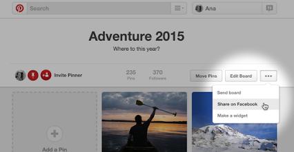 Pinterest - Google+