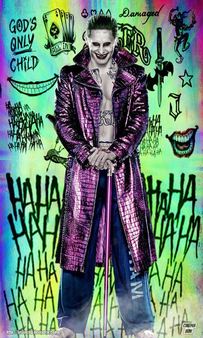 Joker Tattos By Bryanzap Desenhos Do Coringa Wallpaper Coringa